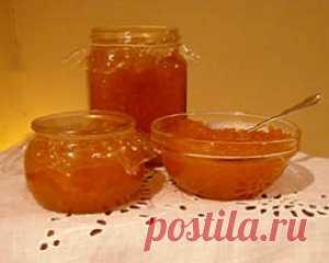 Сладкий, ароматный тыквенный джем с лимоном, апельсином и имбирем - полезный десерт для взрослых и детей. Джем из тыквы рецепт.