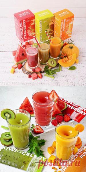 Натуральные Смузи Energy Diet Smart в каталоге NLstore | nlstars