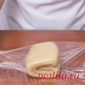 Как приготовить слоеное тесто за 10 минут. Рецепт, который меня часто выручает. - МирТесен
