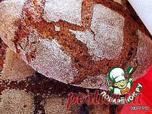 """Советская закваска для ржаного хлеба и """"Столовый"""" ржаной хлеб - кулинарный рецепт"""