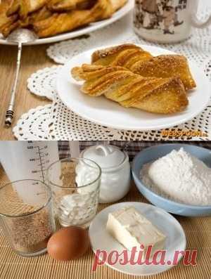 Сахарное дрожжевое печенье. Еда должна быть вкусной
