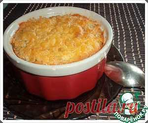 Unsweetened cottage cheese casserole - the culinary recipe