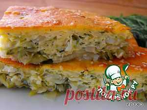 """Капустный пирог """" Остановиться невозможно"""" - кулинарный рецепт"""