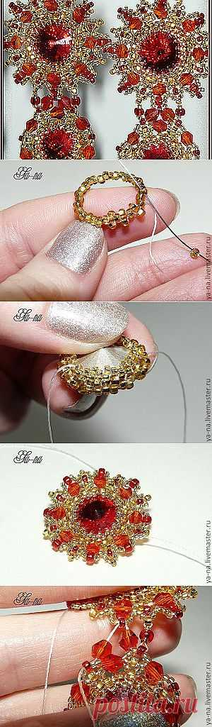 Earrings of beads | Laboratory household