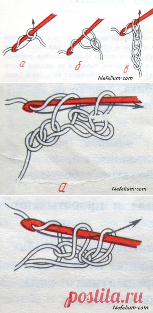 учимся вязать крючком с нуля вяжем шьем мастерим постила