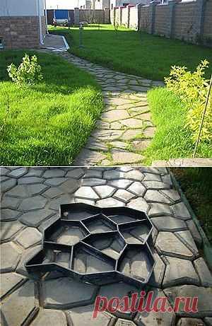 Форма для садовой дорожки Garden Road минимальный заказ - 2 шт. (цена указана за 1 шт.)