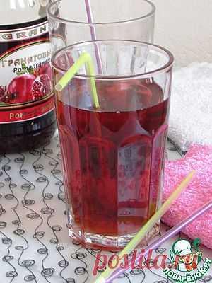 Гранатовый чай - кулинарный рецепт