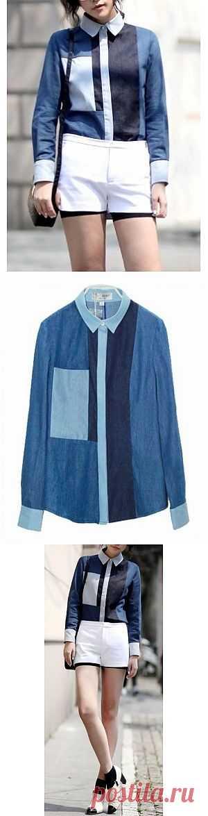 Ещё одна рубашка / Рубашки / Модный сайт о стильной переделке одежды и интерьера