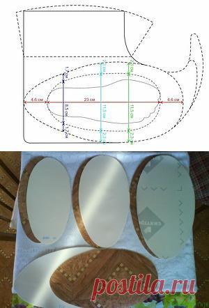 Построение выкройки для валяной обуви – Ярмарка Мастеров