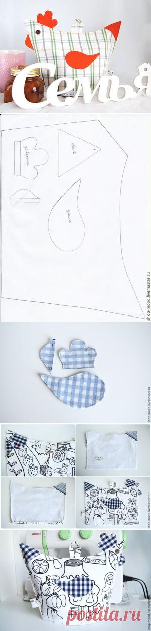 Шьем грелку на чайник «Петушок» - Ярмарка Мастеров - ручная работа, handmade