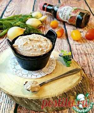 Паштет из рыбных консервов - кулинарный рецепт