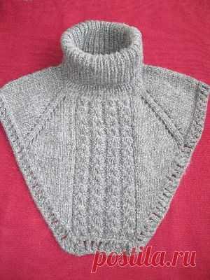 манишка спицами вязание спицами и крючком для детей и взрослых