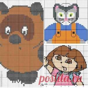 Детские схемы-рисунки для вязания спицами (подборка идей) — Кладовочка идей
