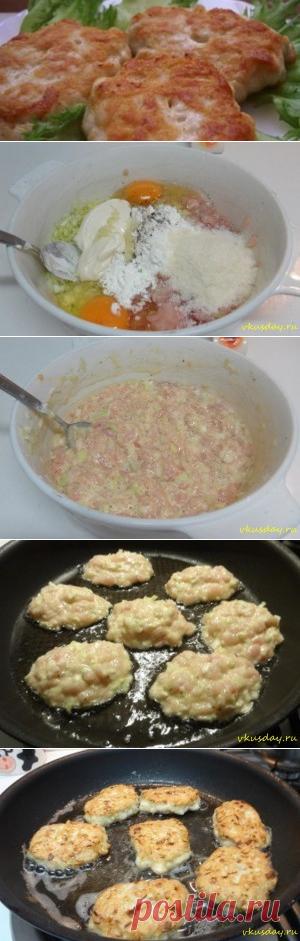 Котлеты из куриного филе   Вкусный день