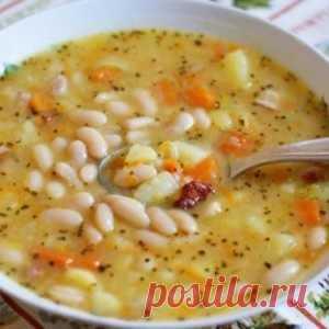 Божественный суп с фасолью. Рецепт моей бабушки
