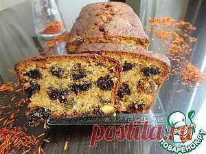 Кейк с черносливом и фисташками - кулинарный рецепт