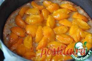 Чизкейк с карамелизированными абрикосами - кулинарный рецепт