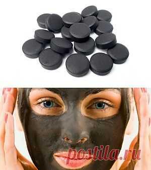 Активированный уголь для похудения и красоты | Женские секреты