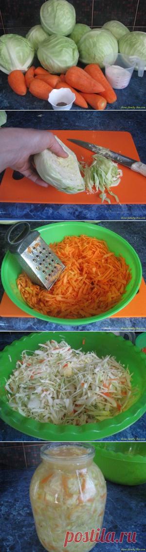 Квашеная капуста /Сайт с пошаговыми рецептами с фото для тех кто любит готовить
