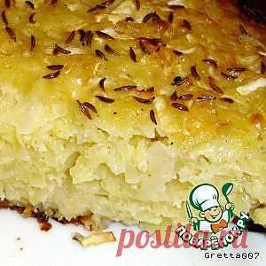 Пирог из капусты - кулинарный рецепт