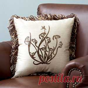 101 декоративная подушка: идеи для творчества