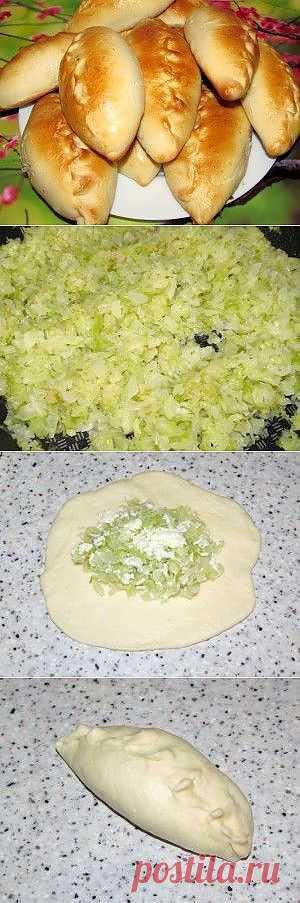 Пирожки с капустой и яйцом | Вкусно и Просто!!!