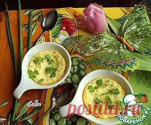 Творожная запеканка с травами - кулинарный рецепт