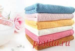 Как сделать полотенца мягкими. Маленькие хитрости | Полезные советы