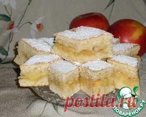 """Мягкое печенье """"Яблочное наслаждение"""" - кулинарный рецепт"""