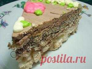 Киевский торт готовим дома рецепт с фото.