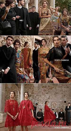 Рекламная кампания коллекции D&G : Красота : Мир женщины : Subscribe.Ru