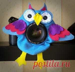 Блоги@Mail.Ru: Игрушка на объектив Совуша