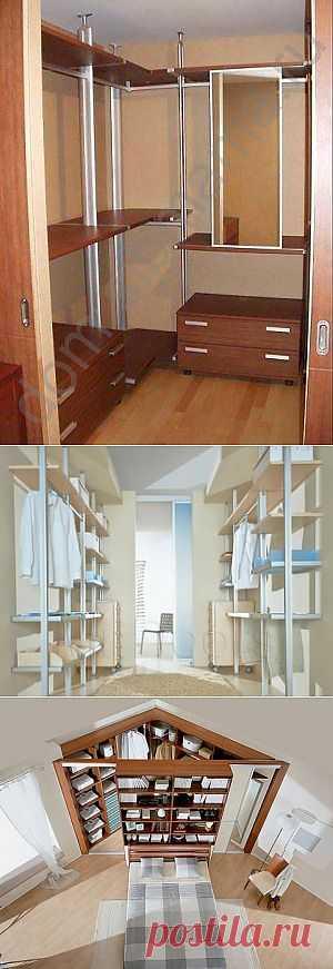 (+1) тема - Мечта о гардеробной | Школа Ремонта
