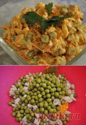 """Вкуснейший салат """"Купеческий"""""""