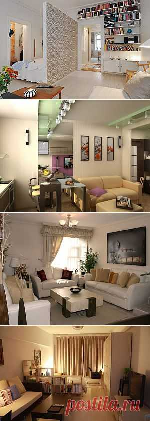 Как сделать классный интерьер в маленькой 50–метровой квартире