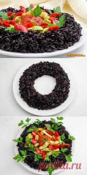 Дикий рис с овощами в мультиварке. Блюдо готовиться очень быстро, но это не уступает ему по полезности! Очень полезно для всего организма!