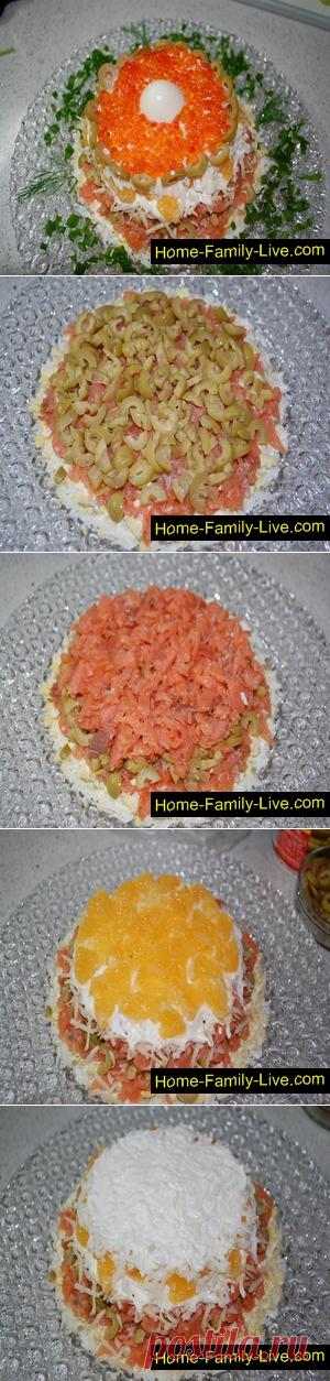 Салат Жемчужина/Сайт с пошаговыми рецептами с фото для тех кто любит готовить