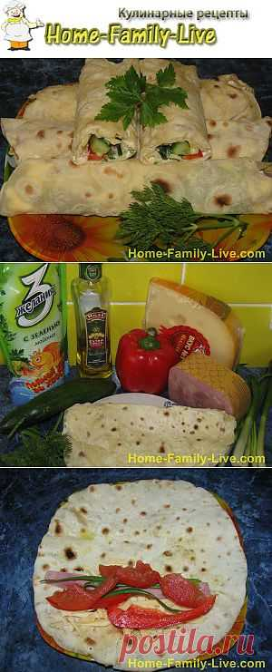 What to wrap in an unleavened wheat cake -   Culinary recipes