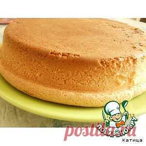 Бисквит (секрет приготовления) - кулинарный рецепт