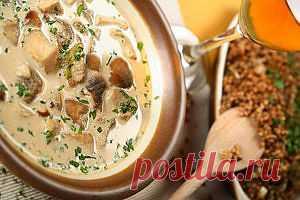 Суп из гречки с грибами | www.wmj.ru