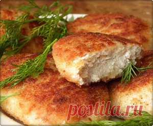 Куриные котлеты. Рецепт. Как приготовить куриные котлеты. | Вкусная еда