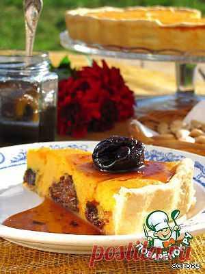 Тыквенный пирог с черносливом в коньяке. Автор: dolphy