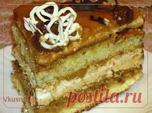 Торт Хрещатик   Рецепты вкусно