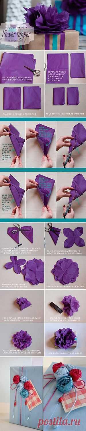 Como fazer um embrulho para presentes | Painel Criativo