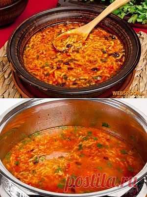 Грузинская кухня славится разнообразными пряными специями, они придают блюду насыщенность и неповторимость. Суп «Харчо» не исключение, именно специи формируют характер супа, а не мясо, поэтому смело можете браться за приготовление блюда оно получится очень сытным и насыщенным.