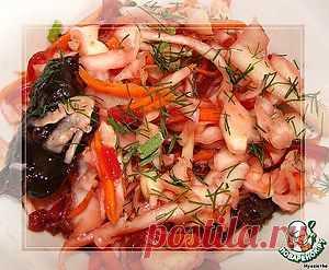 Острая сладкая капуста - кулинарный рецепт