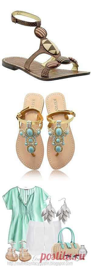 Женские сандалии - 100 красивых моделей: подарите ногам легкость! - Фото