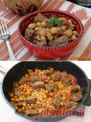 Метаума — горячее блюдо тунисской кухни, которое представляет собой говядину, тушёную с уксусом и множеством острых специй. На самом деле в Тунисе острая еда в большом почёте. Находясь там, я едва находила блюда для своего личного предпочтения.