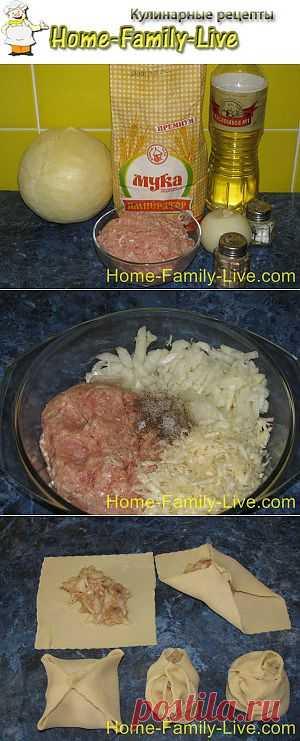 Манты розочки - пошаговый фоторецепт мантов необычной формовки | Кулинарные рецепты