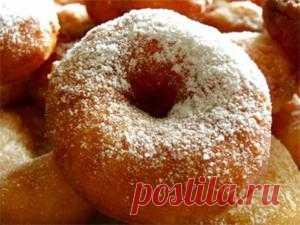 Творожные пончики | Кулинарный портал